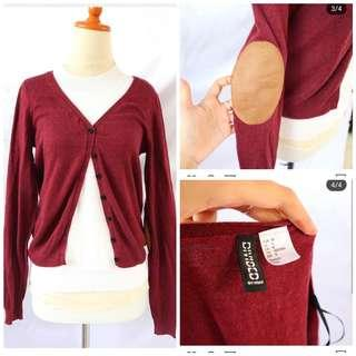 Red Cardigan h&m