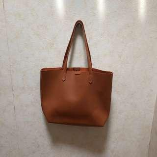 🚚 Brown tote bag