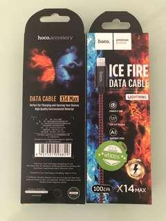 Hoco Ice Fire Fast Charging IPhone Canle  ($9.90)