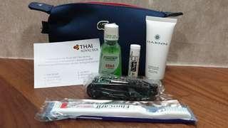 Thai Airways + Lacoste Business Class Travel Amenity Kit