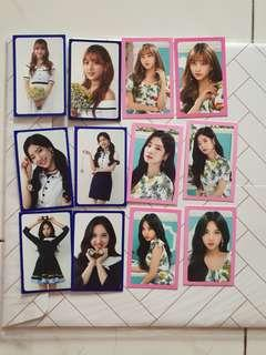 Twice twiceland zone 2 photocard