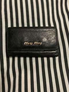 Miu Miu 6 Key Leather Holder