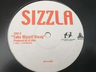 Sizzla - Take Myself Away (LP/VINYL/RECORDS)