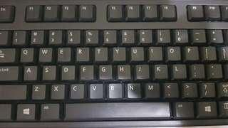 DELL wired KEYBOARD