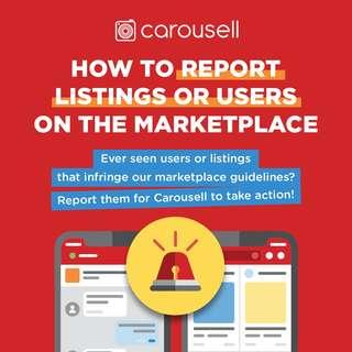 How To Report Listings Or Users