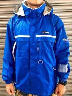 🚚 古著 日製ellesse寶藍機能夾克