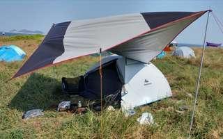 露營天幕 camping shelter