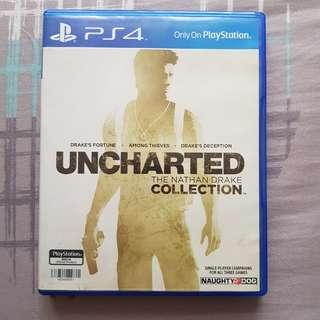 BD PS4 Uncharted Collection Reg All