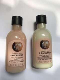 Body Shop Body Shampoo and conditioner 250mL