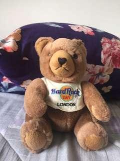 London Hard Rock teddy