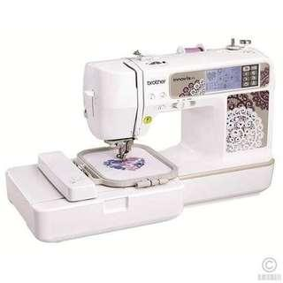 Brothers innovis 955 sewing and embroidery machine