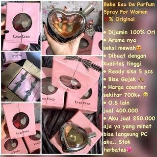 Bebe parfum original 100% NEW ONLY 1