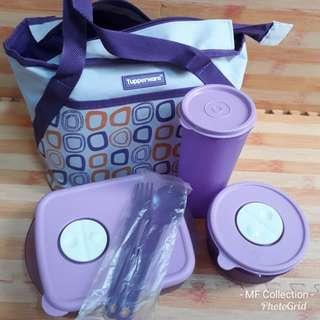 Tupperware Set ungu