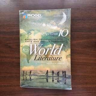 ENGLISH BOOK THE NEW GRADE 10 ENGLISH COMMUNICATION ARTS AND SKILLS THROUGH WORLD LITERATURE K TO 12 COMPLIANT