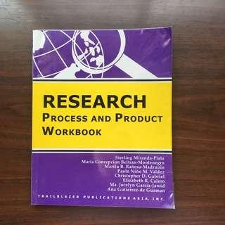 ENGLISH BOOK RESEARCH PROCESS AND PRODUCT WORKBOOK