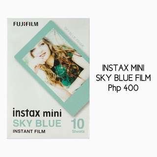 Instax Mini Sky Blue Film