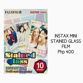 Instax Mini Stained Glass Film