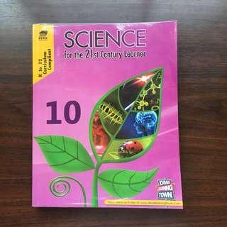 SCIENCE BOOK SCIENCE FOR THE 21ST CENTURY LEARNER 10