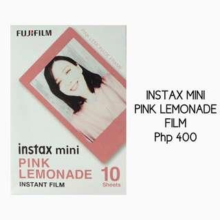 Instax Mini Pink Lemonade Film