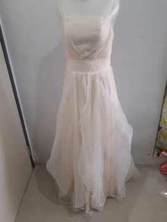 Gaun Dress Pesta Gading