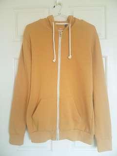 Yellow Zip Up Hoodie - Factorie