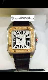 🚚 Cartier Santos Watch
