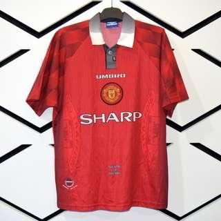 Manchester United 1996/1998 Home Jersey Size L