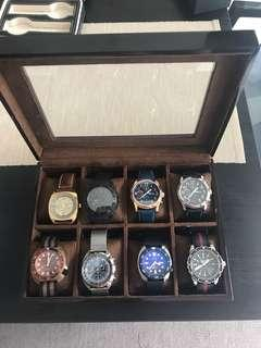 Watch Box Display - 8 watches