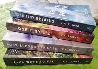 Ten Tiny Breaths Series by K. A. Tucker