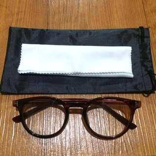 NEW! Round Brown Glasses