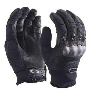 Oakley Factory Pilot Tactical CF Knuckle Gloves Riding / Motorcycle