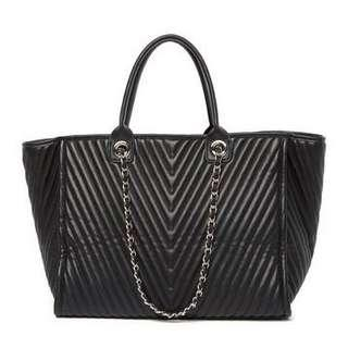 PRICE DROP! Steve Madden Large Quilted Tote Bag