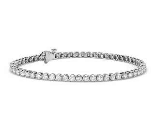 0.5 CARAT DIAMOND HALO BRACELET