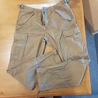 H&M Brown Cargo Pants