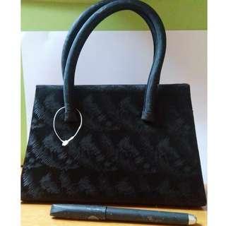 Small Black Bag (clutch cum sling)
