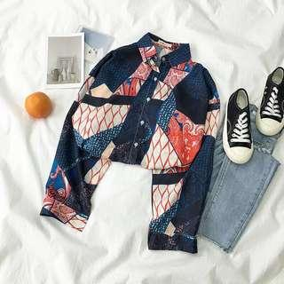 🚚 Oversized Printed Shirt