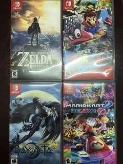 🚚 Nintendo Switch Games