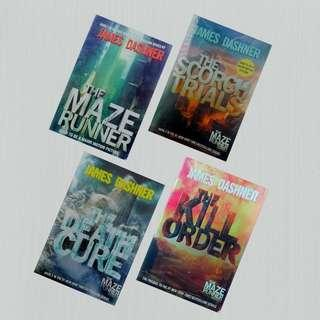 The Maze Runner Series (0.5, 1-3) by James Dashner