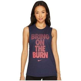 💯Authentic Nike Women's Legend Training Bring On The Burn Workout T