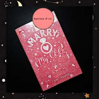 Preloved novel : Marry My CEO by Fanie Depurple