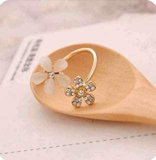 Korean Style Fashion Women Adjustable Ring Trend Jewelry Gift