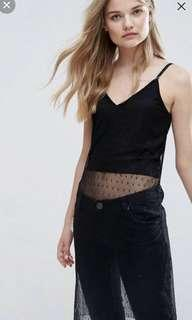 🚚 BNWT New Look Mesh Top from ASOS