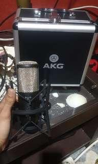 Mic condenser AKG P420