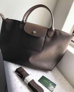 Longchamp Le Pliage Neo Dark Brown