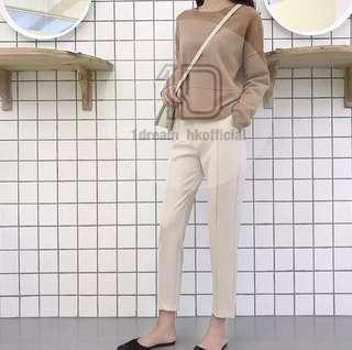 修身西裝褲