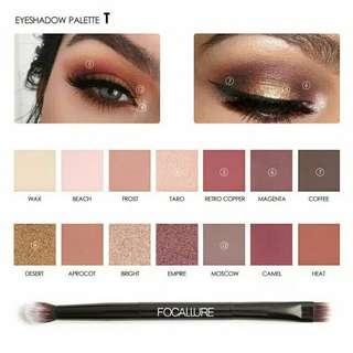 Eyeshadow pallet Focallure Tropical Vacation