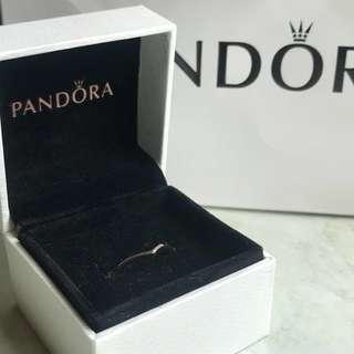 Pandora Shining Wish Ring Rose Gold