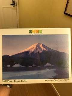 全新富士山1000塊拼圖 Fuji mount puzzle
