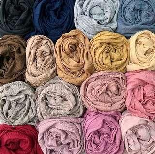 Instock Arabic cotton shawl hijab SALE 5 for $30 Only