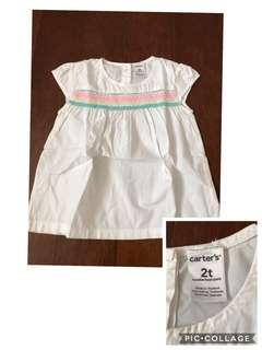 Take all baju anak perempuan carters authentic 2y